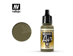 VALLEJO MODEL AIR INTERIOR GREEN 71010 COLORI