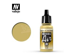 VALLEJO MODEL AIR IVORY RLM05 71106 COLORI