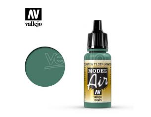 VALLEJO MODEL AIR LIGHT GREEN RLM25 71267 COLORI
