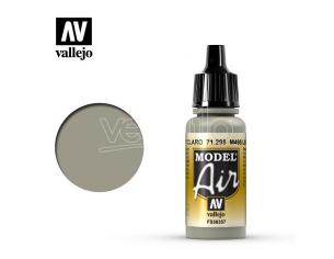 VALLEJO MODEL AIR M495 LIGHT GREY 71298 COLORI