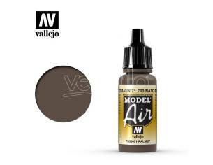 VALLEJO MODEL AIR NATO BROWN 71249 COLORI