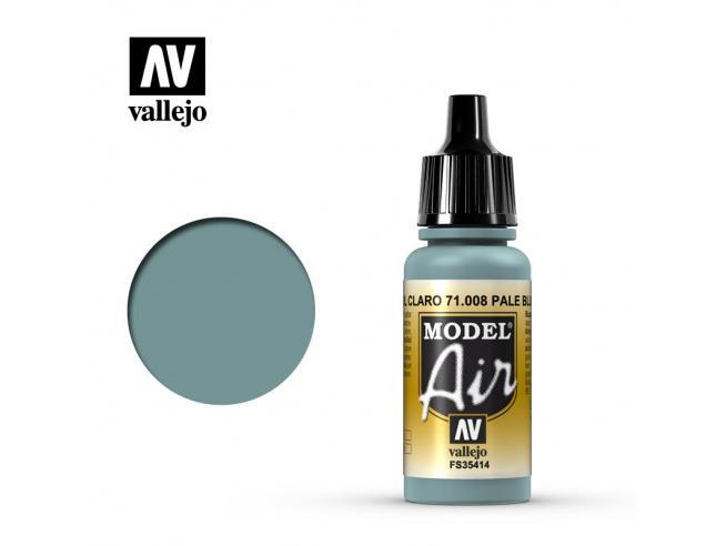 VALLEJO MODEL AIR PALE BLU 71008 COLORI