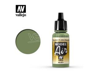 VALLEJO MODEL AIR PALE GREEN 71095 COLORI