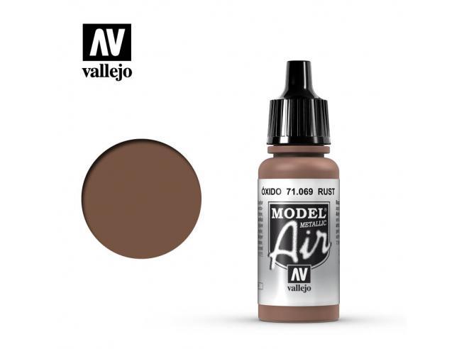 VALLEJO MODEL AIR RUST 71069 COLORI