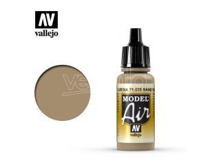 VALLEJO MODEL AIR SAND YELLOW 71028 COLORI