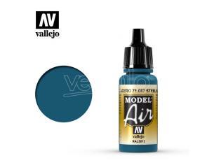 VALLEJO MODEL AIR STEEL BLUE 71087 COLORI
