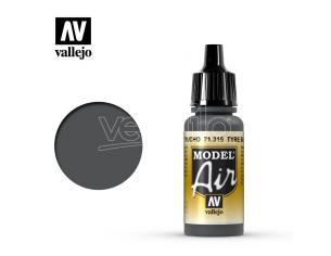 VALLEJO MODEL AIR TYRE BLACK 71315 COLORI
