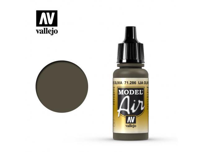 VALLEJO MODEL AIR UJA OLIVR GREEN 71286 COLORI