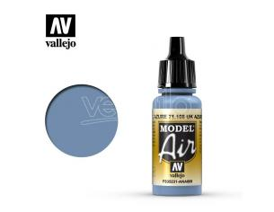 VALLEJO MODEL AIR UK AZURE BLUE 71108 COLORI