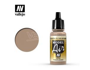 VALLEJO MODEL AIR US DESERT SAND 71140 COLORI