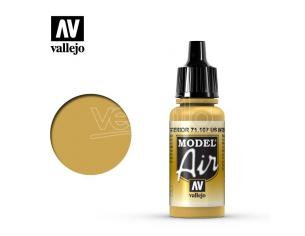 VALLEJO MODEL AIR US INTERIOR YELLOW 71107 COLORI