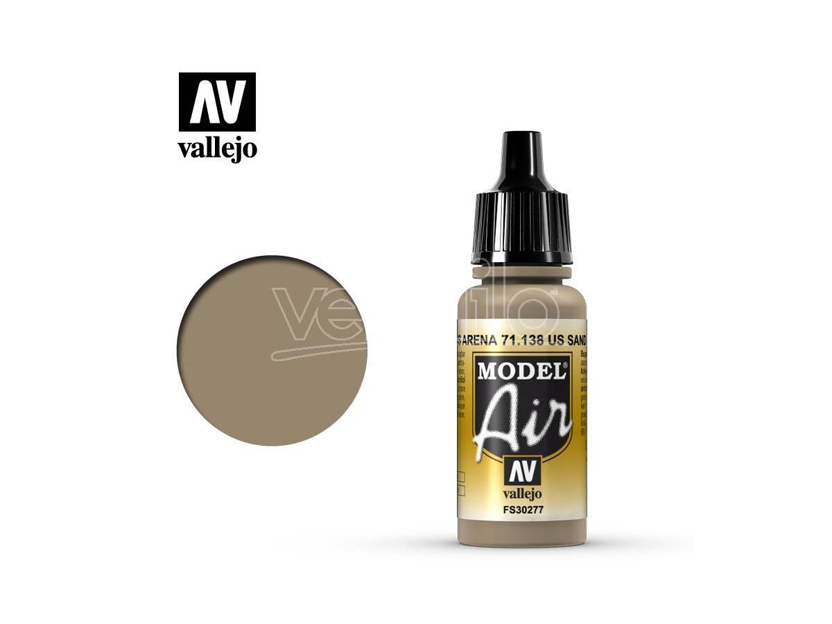 VALLEJO MODEL AIR US SAND 71138 COLORI