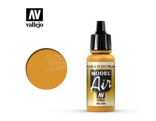 VALLEJO MODEL AIR YELLOW OCHRE 71033 COLORI