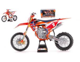New Ray NY49623 KTM 450SX-F RED BULL N.1 RYAN DUNGEY 2017 1:6 Modellino