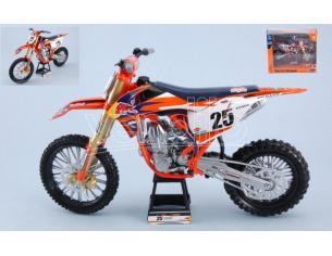 New Ray NY57963 KTM 450SX-F RED BULL N.25 MARVIN MUSQUIN 2018 1:10 Modellino