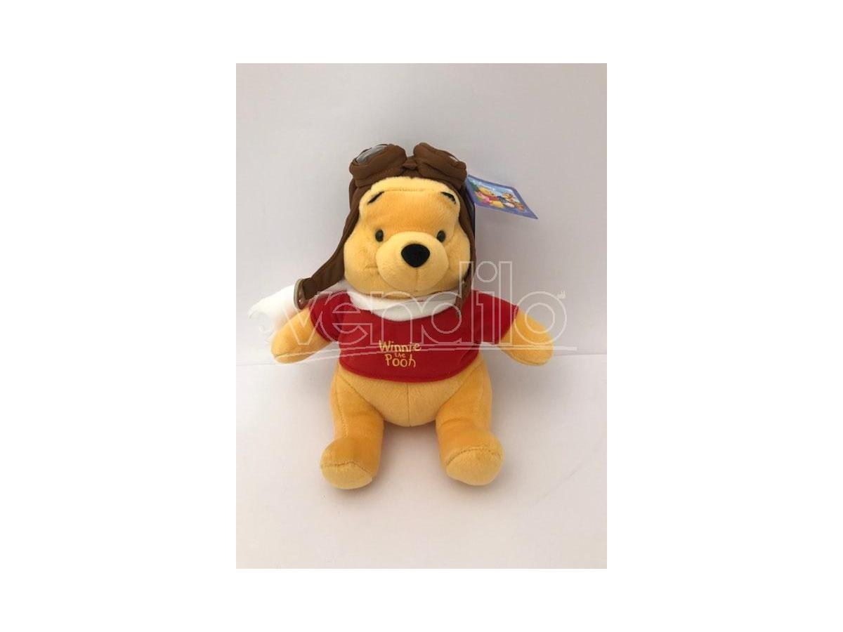 Disney Winnie The Pooh - Winnie Peluche vestito da avviatore 30cm
