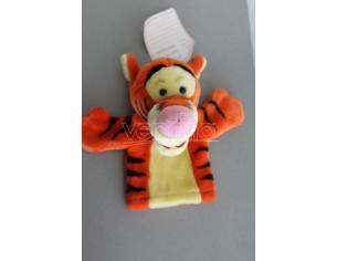Disney Winnie The Pooh - Peluche Marionetta guanto Tigro 21cm