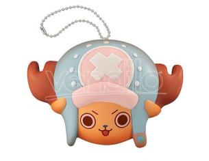 MEGAHOUSE ONE PIECE FLUFFY SQUEEZE B. CHOPPER FACE PORTACHIAVI