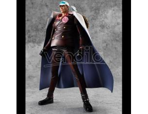 MEGAHOUSE ONE PIECE POP DX ADMIRAL AKAINU PVC STAT STATUA