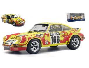 Solido SL1801109 PORSCHE 911 RSR N.108 RALLY TOUR AUTO 1973 C.B. LENA-J.C.MORENAS 1:18 Modellino
