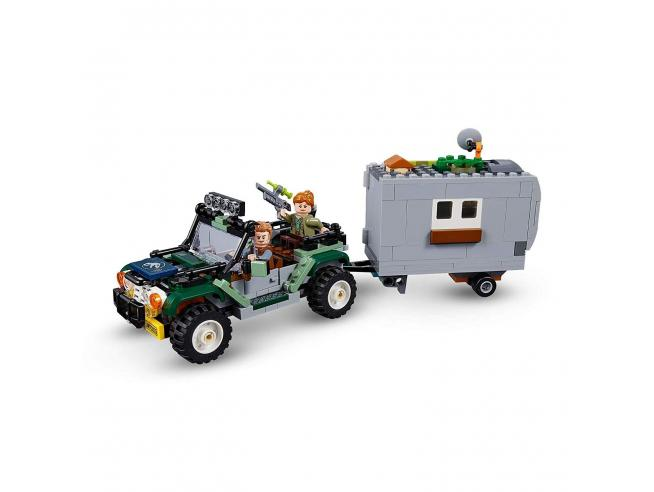 LEGO JURASSIC WORLD 75935 - FACCIA A FACCIA CON IL BARYONYX: CACCIA AL TESORO