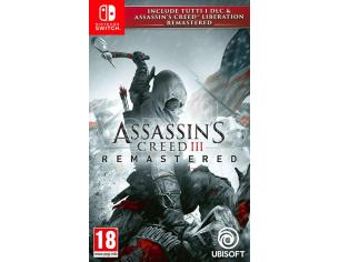 ASSASSINSCREED 3+AC LIBERATION REMASTER. AVVENTURA - NINTENDO SWITCH