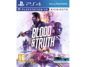 BLOOD & TRUTH AZIONE - PLAYSTATION 4