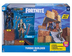 FORTNITE TURBO BUILDER + 2 PERS. 10 CM - ACTION FIGURES
