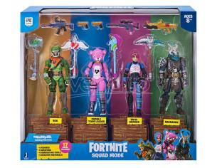 Grandi Giochi Fortnite 4 Personaggi 10 cm Squad Mode Action Figure