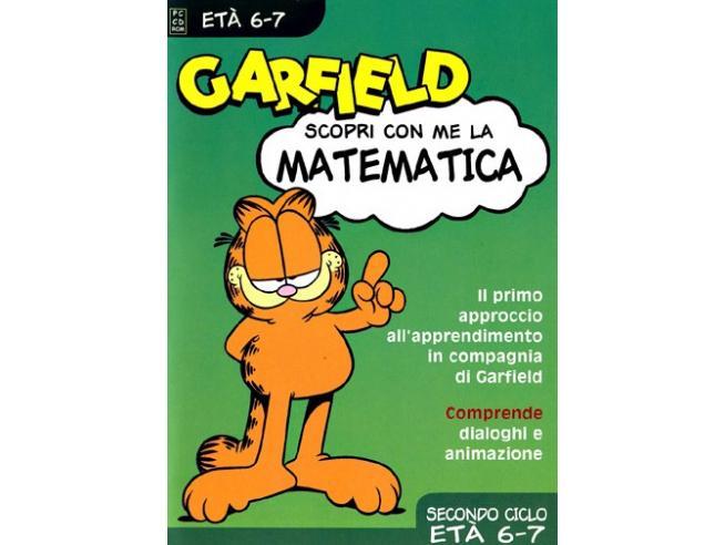 GARFIELD - MATEMATICA 6 -7 ANNI EDUCATIVO GIOCHI PC