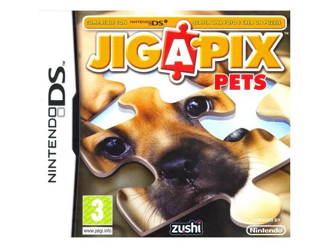 JIGAPIX PETS PUZZLE - NINTENDO DS
