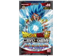 Dragon Ball Destroyer Kings Bustoe Set 06 - Carte Da Gioco/collezione