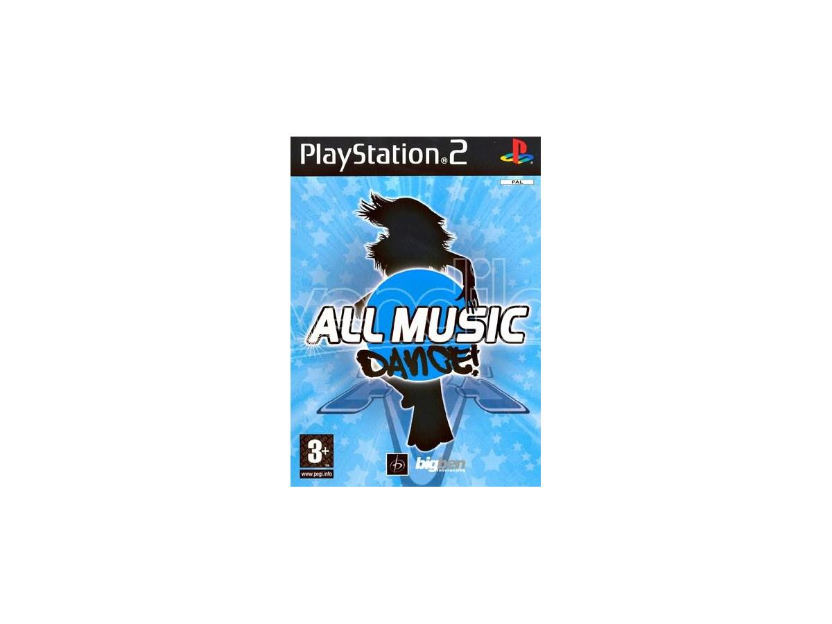 ALL MUSIC DANCE SOCIAL GAMES - PLAYSTATION 2