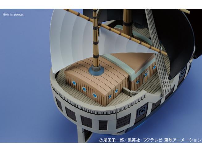 BANDAI MODEL KIT ONE PIECE GRAND SHIP COLL SPADE PIRATES MODEL KIT