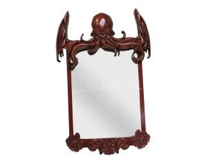 SD TOYS CTHULHU MIRROR 80 CM WITH WOODEN FRAME SPECCHIO