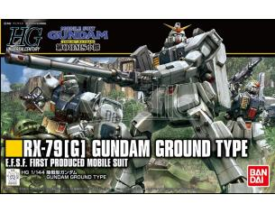 BANDAI MODEL KIT HG GUNDAM GROUND TYPE 1/144 MODEL KIT