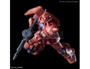 BANDAI MODEL KIT HG ZAKU II MS-06S RED COMET VER 1/144 MODEL KIT