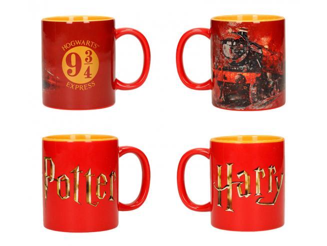 Sd Toys Harry Potter Logo Espresso Per Hogwarts Tazza Set (2)