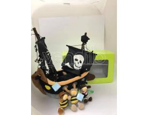 Set Pirati Peluche Nave con orsetti pirata Playtime 48575 Scatola Rovinata