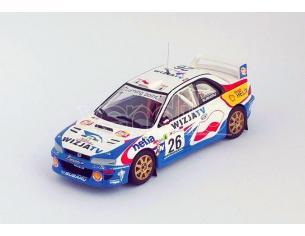 Trofeu TFRRAL78 SUBARU WRC N.26 RALLY OF PORTUGAL 2000 HOLOWCZYC-FORTIN 1:43 Modellino