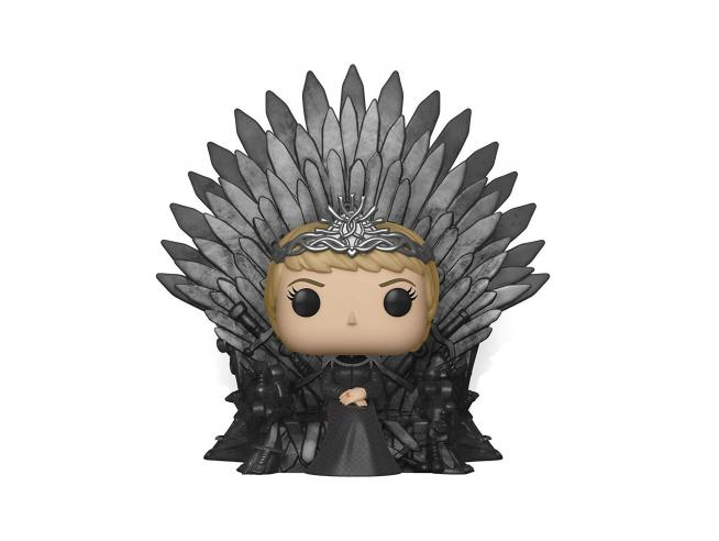 Funko Game of Thrones POP Serie TV Vinile Cersei Lannister on Iron Throne 15 cm