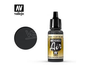 VALLEJO MODEL AIR BLACK 71057 COLORI