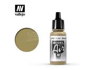 VALLEJO MODEL AIR BRIGHT BRASS 71067 COLORI