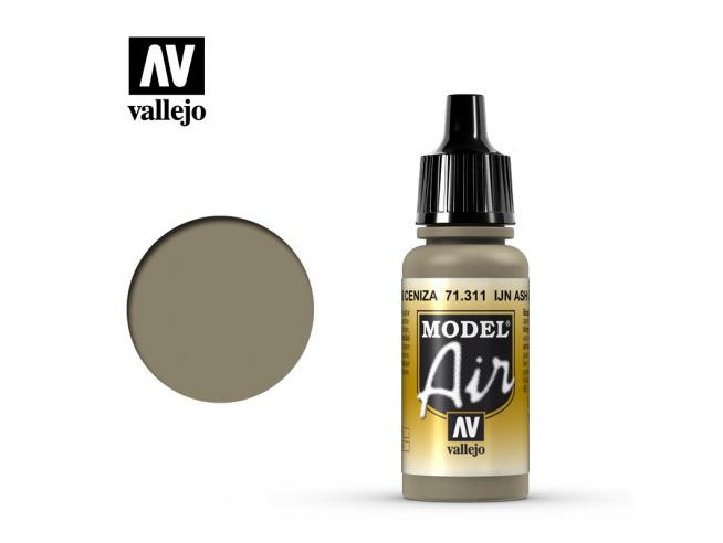 VALLEJO MODEL AIR IJN ASH GREY 71311 COLORI