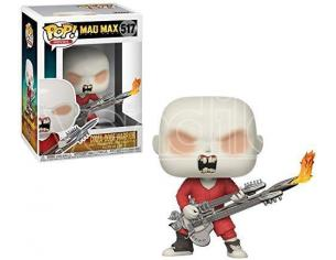 Funko Mad Max POP Serie TV Vinile Figura Coma-Doof Warrior 9 cm SCATOLA ROVINATA