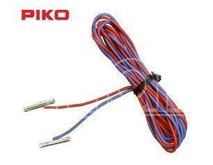 Piko 55292 2 pz Cavetto di alimentazione con giunzioni in metallo per binario