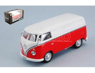 Cararama Motorama CA4-60342 VW T1 TRANSPORTER RED/WHITE 1:43 Modellino