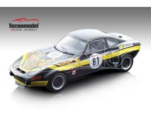 Tecnomodel TMD18133C OPEL GT 1900 N.81 22nd 500 KM NURBURGRING 1971 G.SCHULER-D.FROHLICH 1:18 Modellino