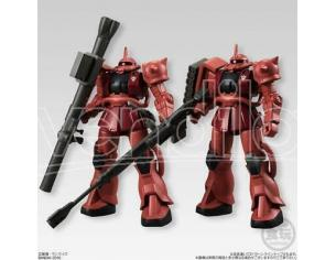 Mobile Suit Gundam Char's Zaku II 1 pz Candy Toys & gum Figura Box rovinato