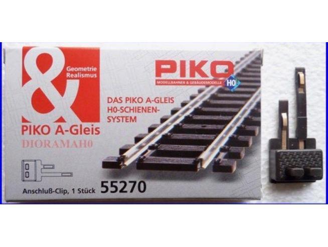Piko 55270 Morsetto a clip di alimentazione per binario H0 Accessori